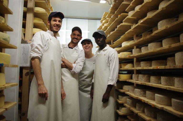 L'équipe de la laiterie La Chapelle